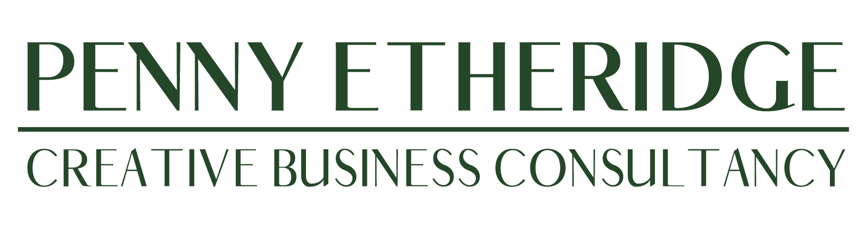 Penny Etheridge Creative Business Consultancy Logo