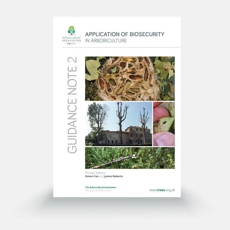 Application of Biosecurity in Arboriculture