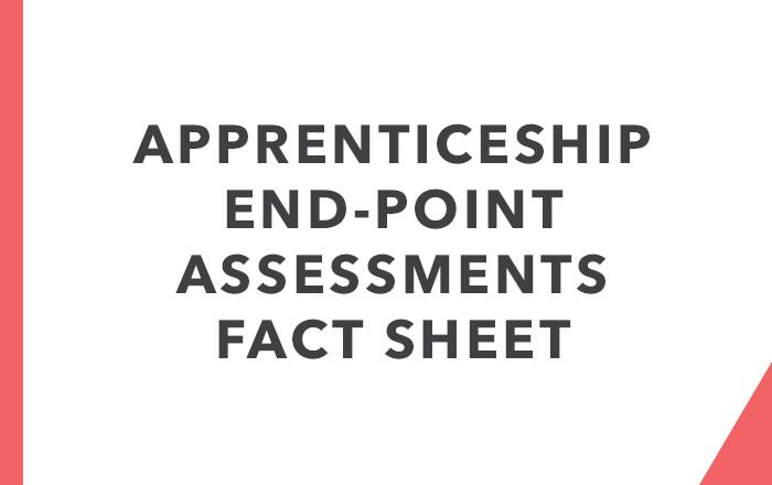 End Point Assessments Fact Sheet