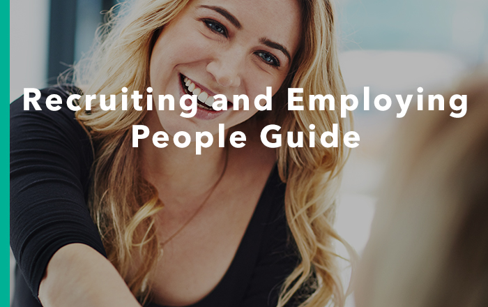 Recruiting & Employing People Guide