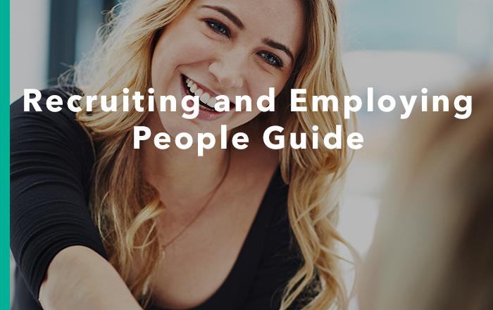 Recruiting & Employing People Guide