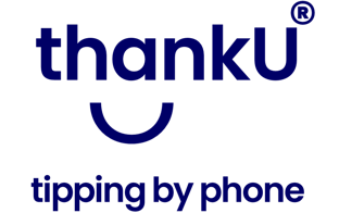 thankU, cashless tipping by phone Logo
