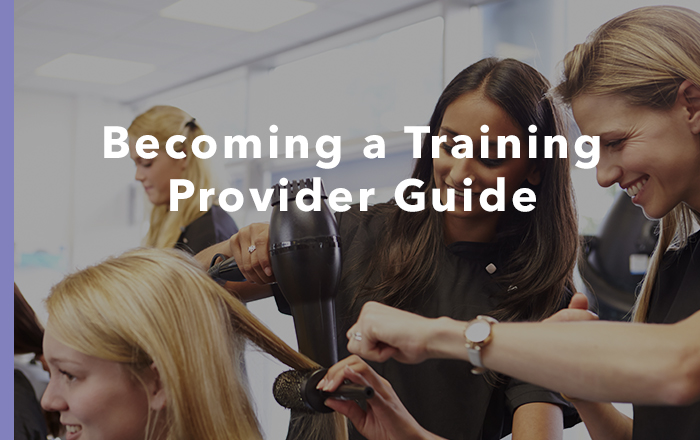 Training Provider Guide